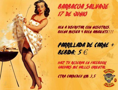 Barbacoa Salvaje Jaguars MC Vallés Oriental – 17 de Junio