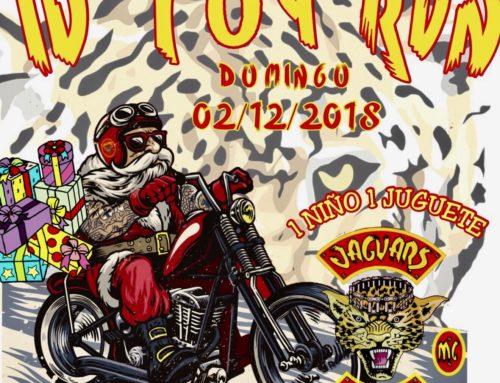 IV Toy Run Jaguars MC – 02 de Diciembre 2018