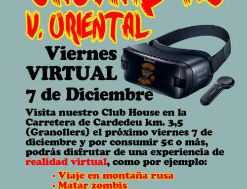 Viernes VIRTUAL Jaguars MC – 07 de Diciembre 2018
