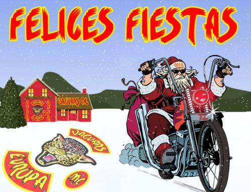 Jaguars MC Europa os desea una feliz navidad y felices fiestas
