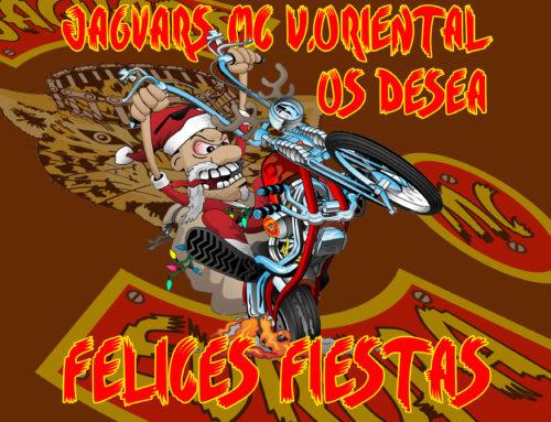 Jaguars MC Vallés Oriental os desea feliz navidad y felices fiestas