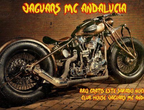 BBQ gratis el sábado noche club house Jaguars MC Andalucía – 9 de Enero 2019