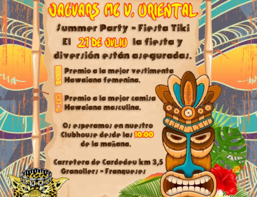 Summer Party – Fiesta Tiki – Jaguars MC Vallés Oriental – 21 de Julio 2019
