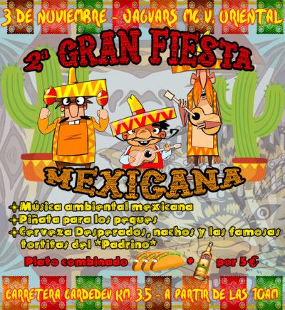 2ª Fiesta Mexicana Jaguars MC