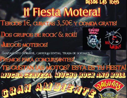II Fiesta Motera! – Jaguars MC Toledo – 10 de Agosto 2019
