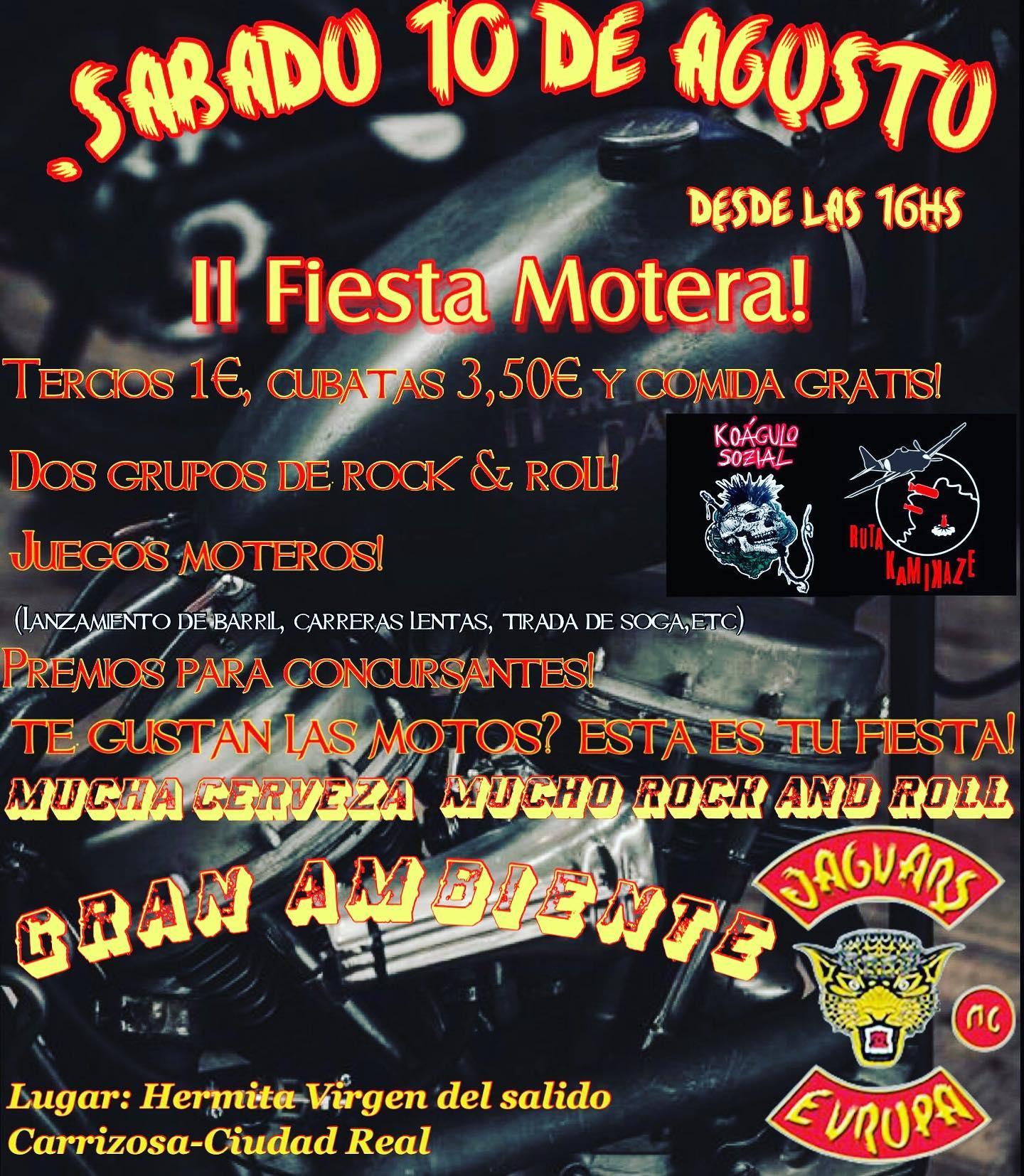 II Fiesta Motera Jaguars MC Toledo