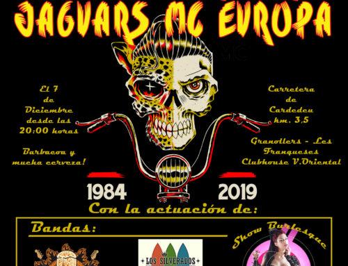 35 Aniversario Jaguars MC Europa – 7 de Diciembre de 2019