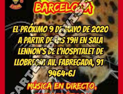 (Anulado) XVII Aniversario Jaguars MC Barcelona – 9 de Mayo de 2020