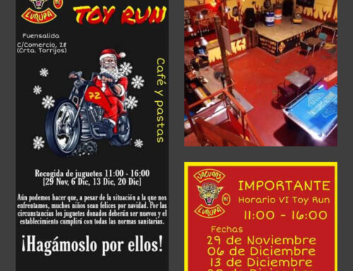 VI Toy Run – Jaguars MC Toledo