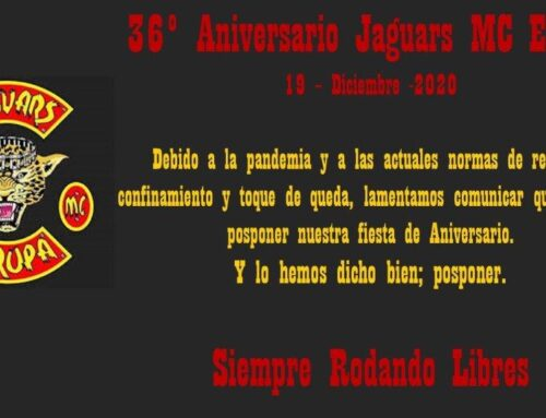 36 Aniversario Jaguars MC Europa