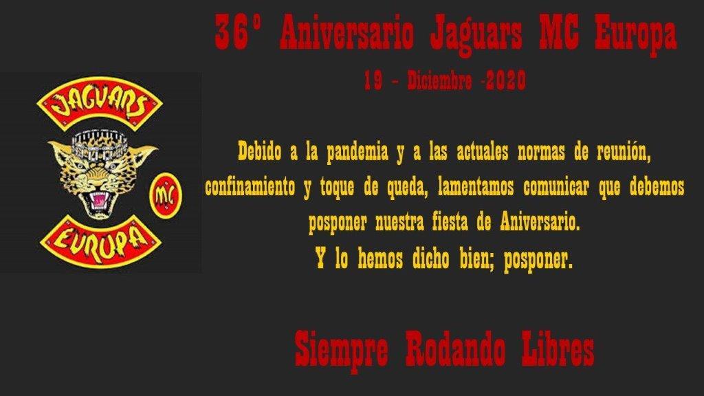 Comunicado 36 Aniversario